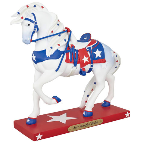 Star Spangled Rodeo Painted Pony