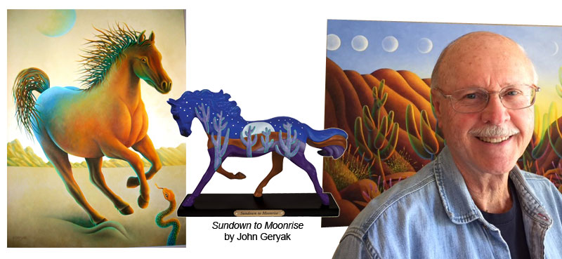Official Painted Ponies Artist John Geryak